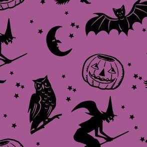 Bats and Jacks ~ Purple