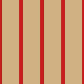Stripe 4 - Red Tan ©Julee Wood