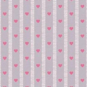 Sketchy Scandi Stripe gray © Julee Wood