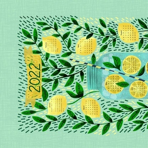 Lemons Lemonade Calendar - updated 2021!