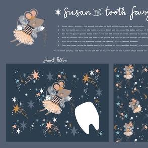 Susan tooth fairy DIY pillow