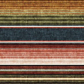 serape southwest stripes - earth -  LAD19