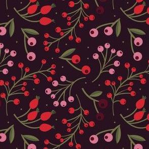 xmas flora | mixed berries