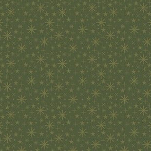 xmas flora | starry sky green