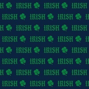 irish - notre dame irish fabric