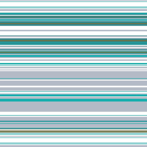 Colorful stripes |  23 –  gray, blue and green