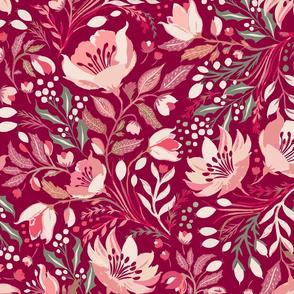 Christmas Rose- Hellebore - Cherry
