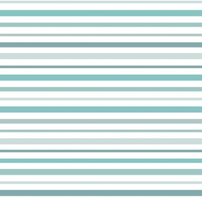 Nautical Stripes Blue White Even