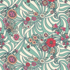 Summer Flower Waves