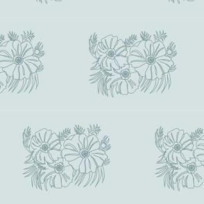 Flowergrpoutlineturqs