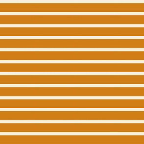Orange Cream Stripe