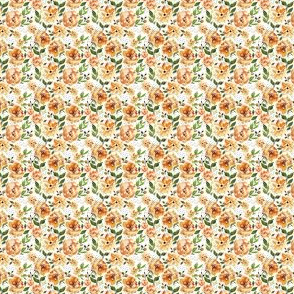 Halloween Floral ORANGE A