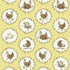 Chicken_Cameos_yellow