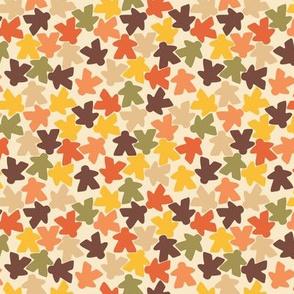 Meeple people // retro autumn// small