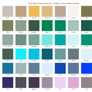 Dixie Moon Fat Quarter Color Swatches Cool