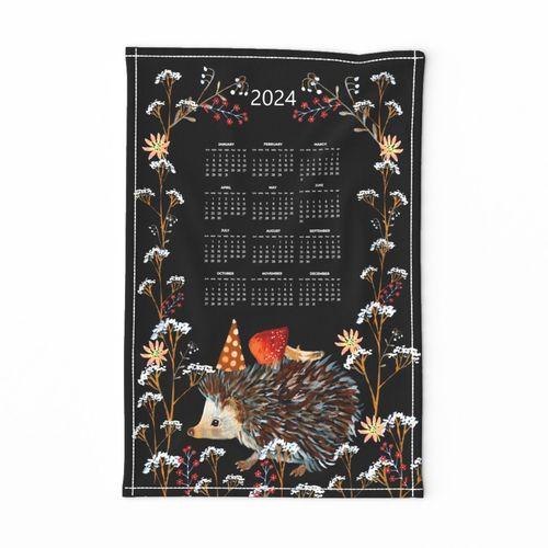 tea towel suni 2021 calendar