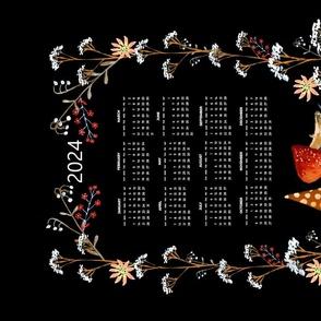 tea towel suni 2020 calendar