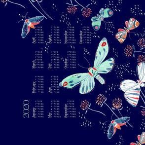 2020 Calendar: Midnight Flurry - © Lucinda Wei