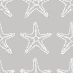 Sea Starfish Grey