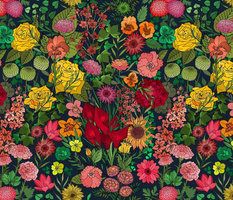 Chintz Garden in Juicy Florals