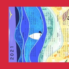 2020 Beach Calendar