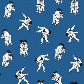 Judo Blue