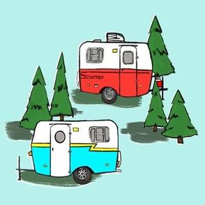 retro happy camper