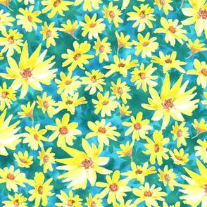 Yellow Prairie Dock Flowers