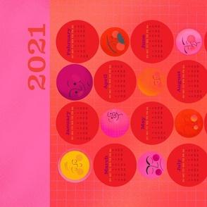 Sunny Days 2021 Calendar