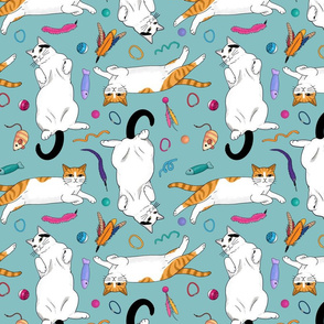 Scatter Cats - larger scale
