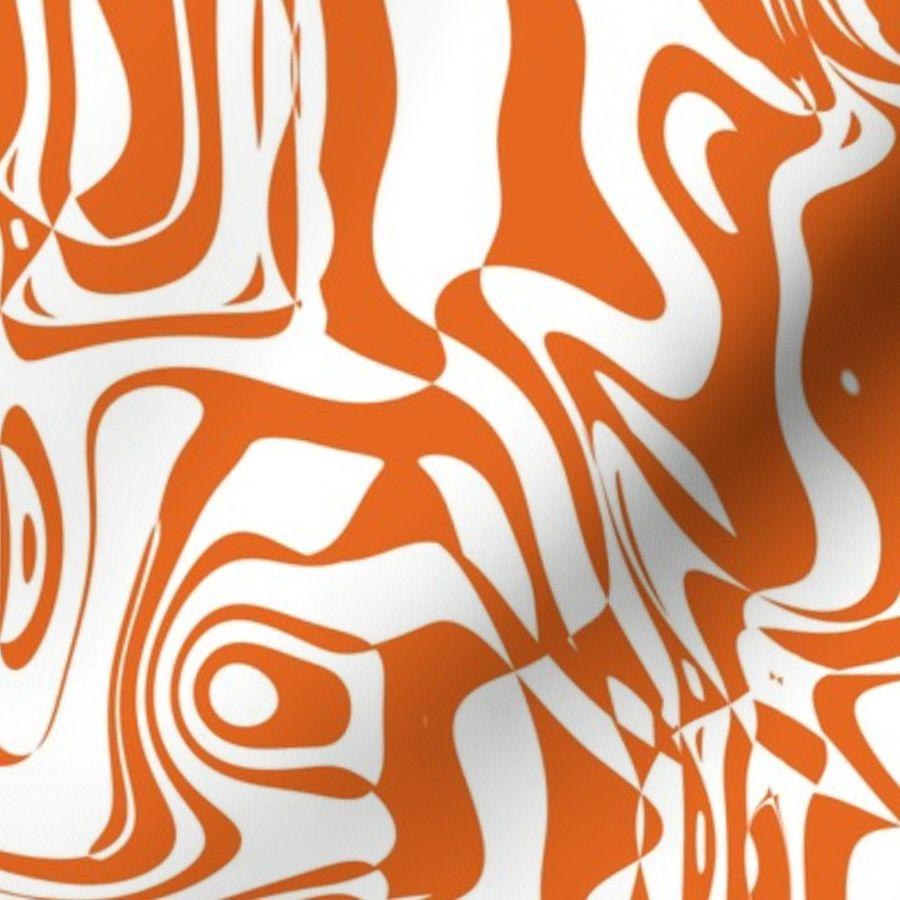 Orange graffiti l