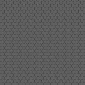 Gray on Gray Honeycomb