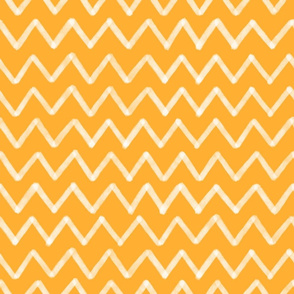 white zig zag yellow background