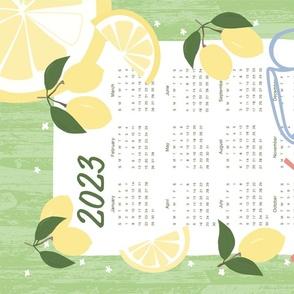 Lemon Tea Towel 2020