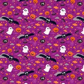 Boo-tiful Creatures Purple Small