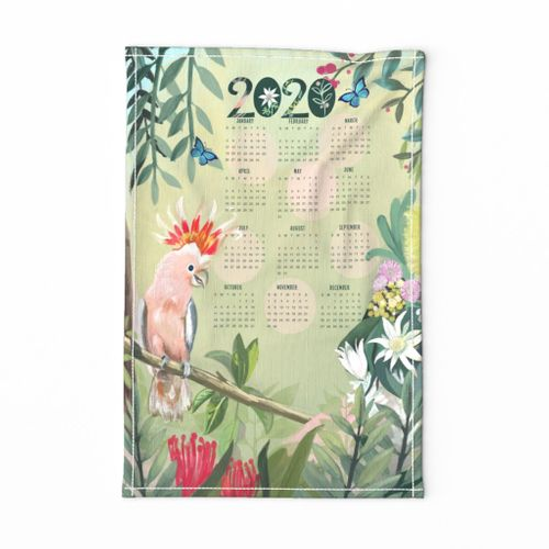Major Mitchell's Cockatoo 2020 Calendar