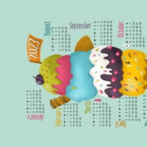 Ice Cream_ Calendar 2021