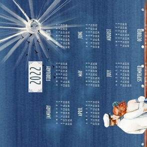 All The 20s Tea Towel Calendar