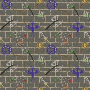 Dungeoneer's Graffiti