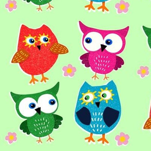 Give A Hoot on Lime