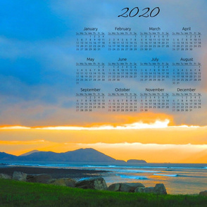 2020 Calendar Tea Towels - Waterville, Ireland