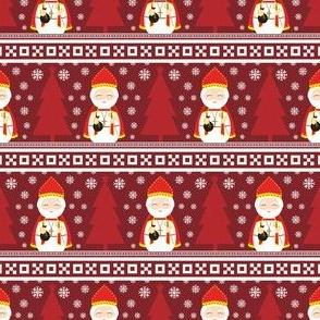 St. Nicholas Fair Isle Christmas Pattern