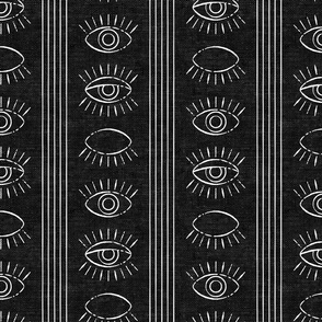 blink - eyes - black woven - LAD19