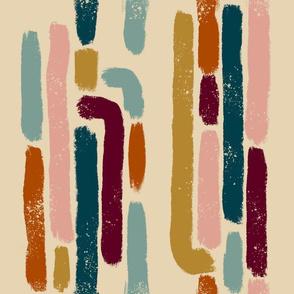 Rainbow Brushstroke