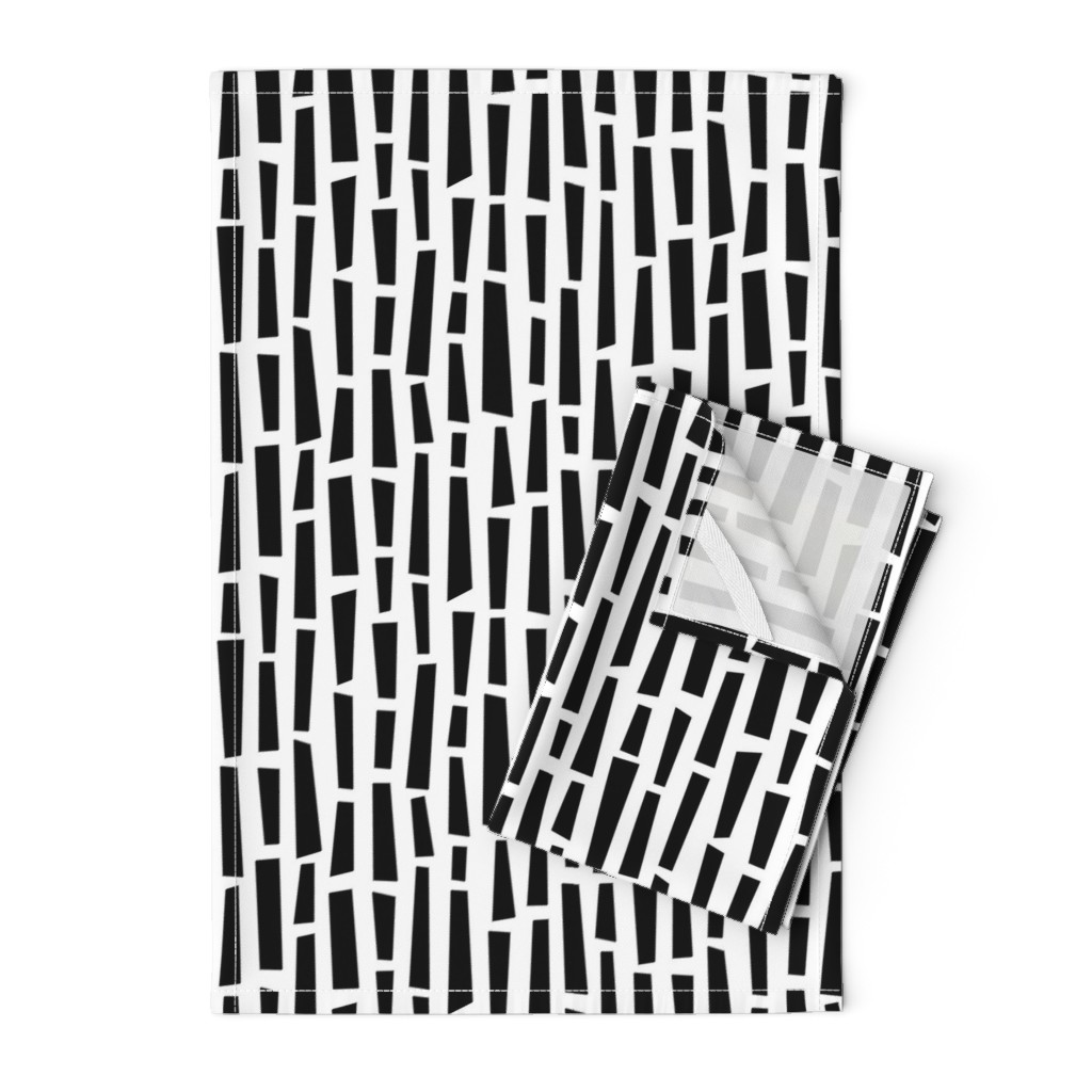 Orpington Tea Towels featuring Mod Mosaic - Long - © Autumn Musick 2019 by autumn_musick