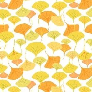 Ginkgo Leaf Allover_Yellow