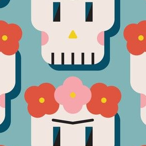 Frida Skull - Bright