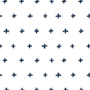 Doodle Cross Navy