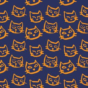 Halloween kitties