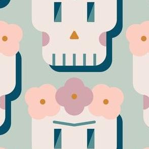 Frida Skull - Pastel